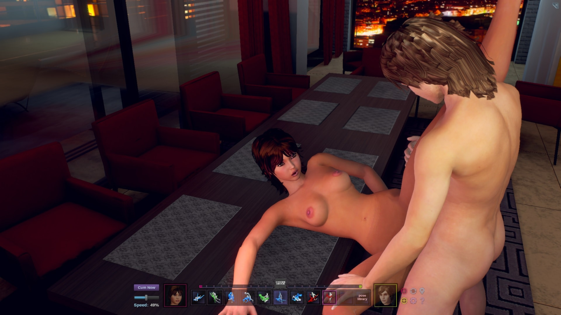 interactive adult game